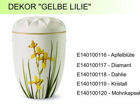 Dekor_Gelbe-Lilie