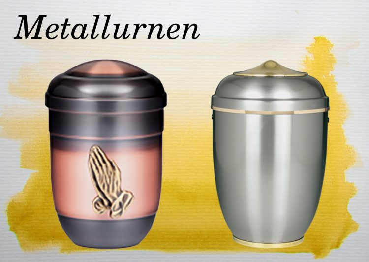 Urnen-Kategorien